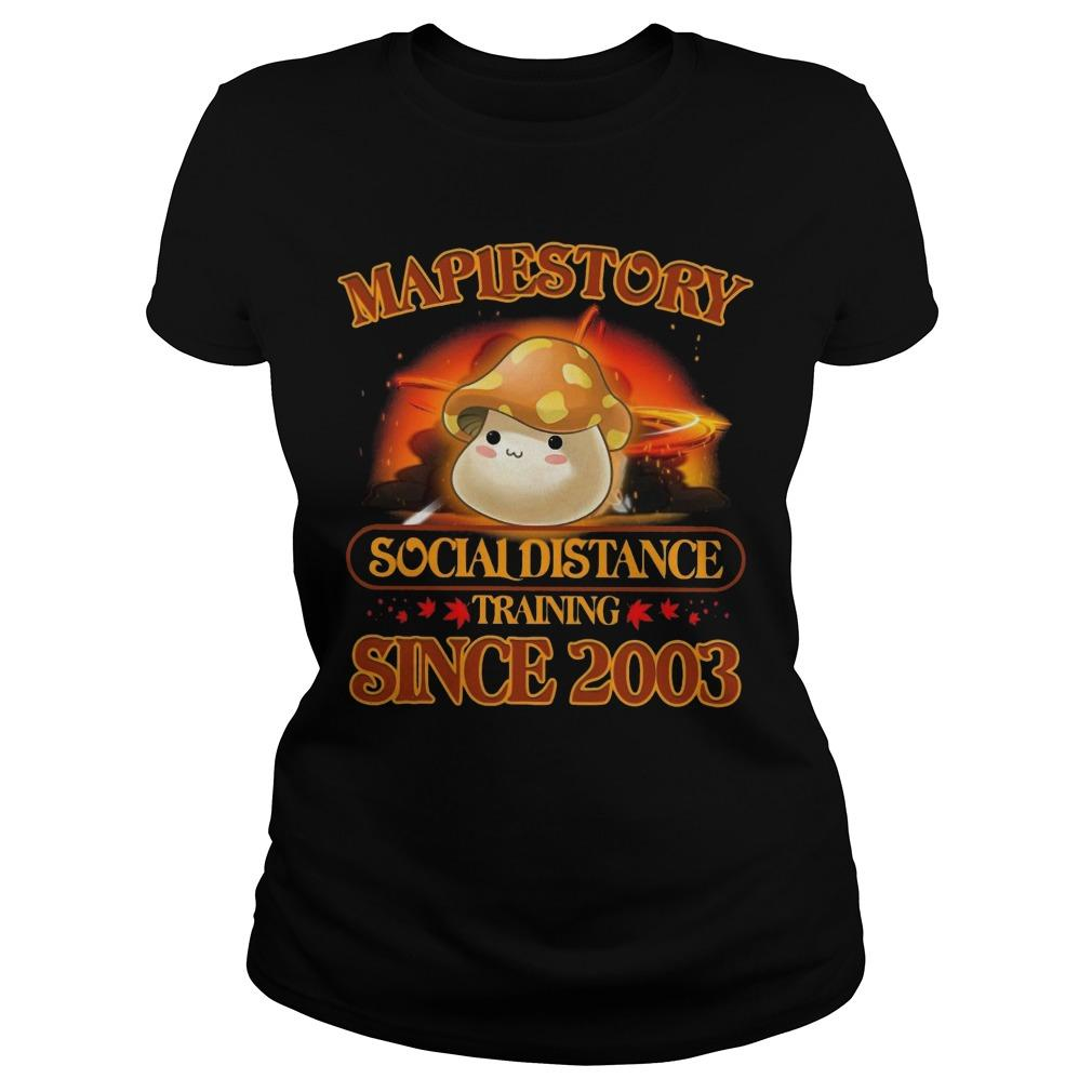 Maplestory Social Distance Training Since 2003 Longsleeve