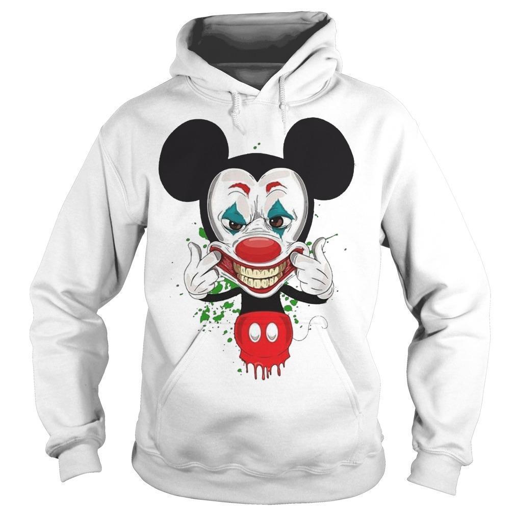 Mickey Mouse Smiling Joker Hoodie