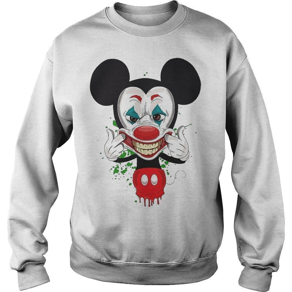 Mickey Mouse Smiling Joker Sweater