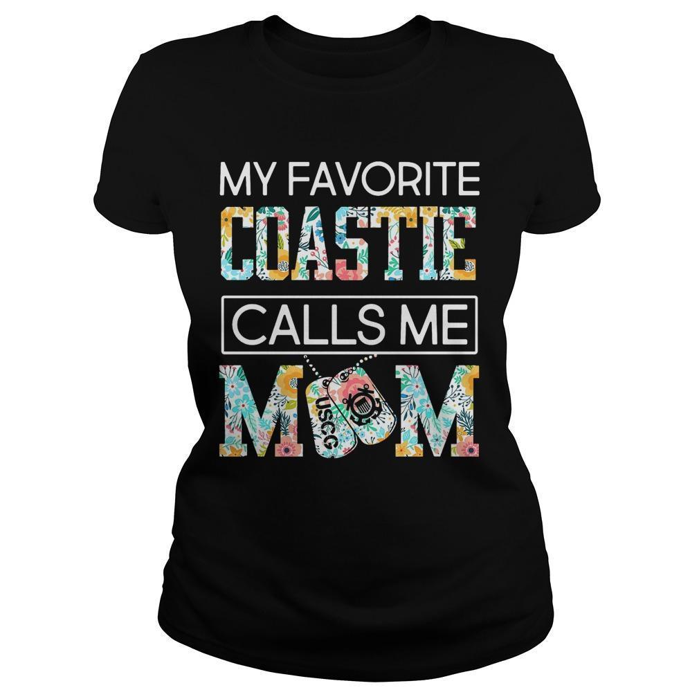 My Favorite Coastie Calls Me Mom Longsleeve