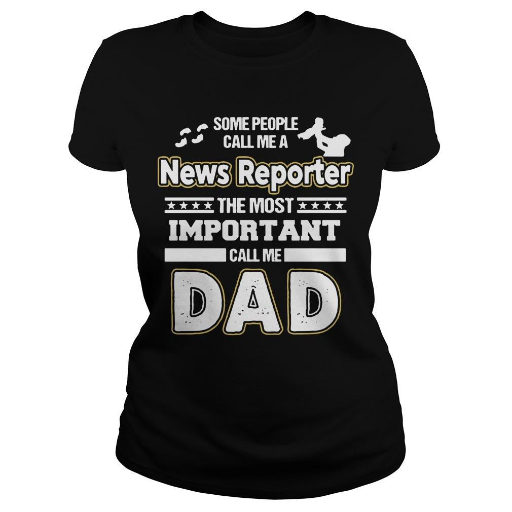 News Reporter Dad No Longsleeve