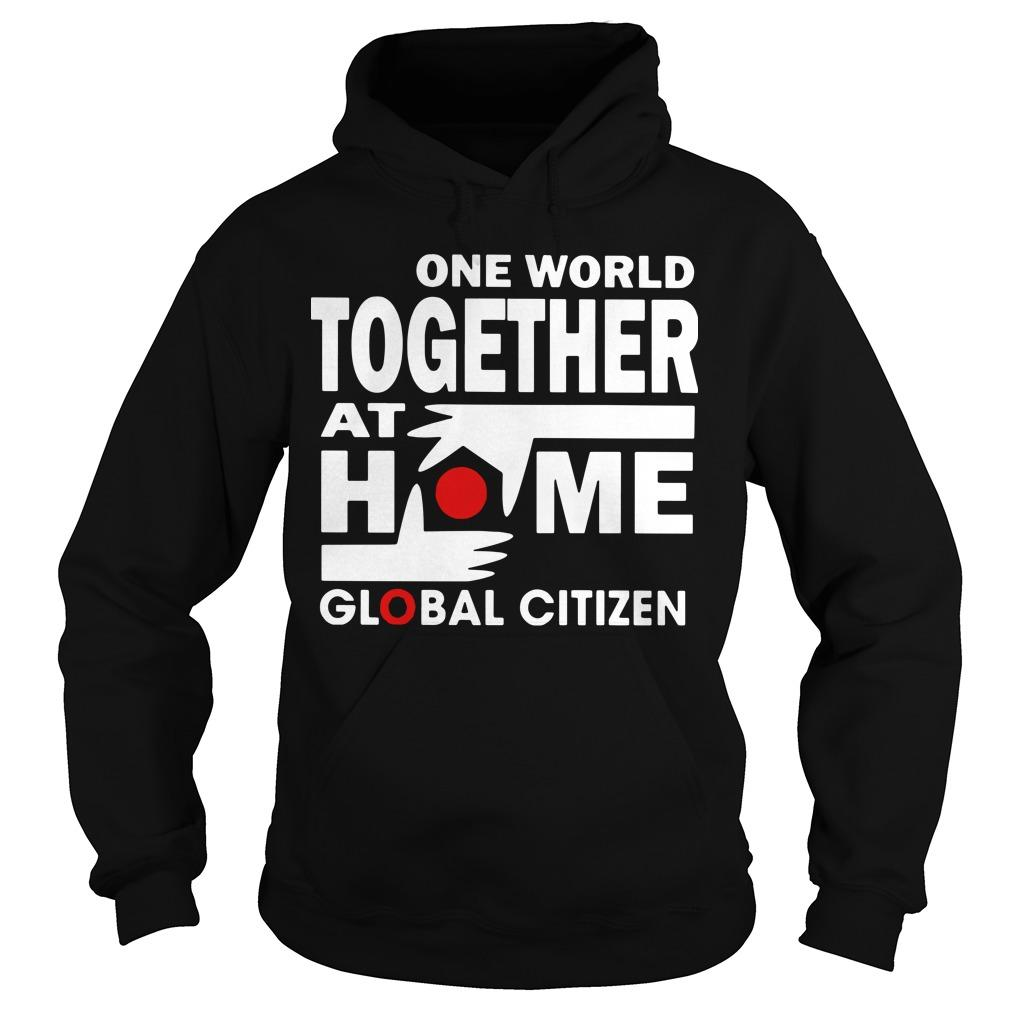 One World Together At Home T Hoodie
