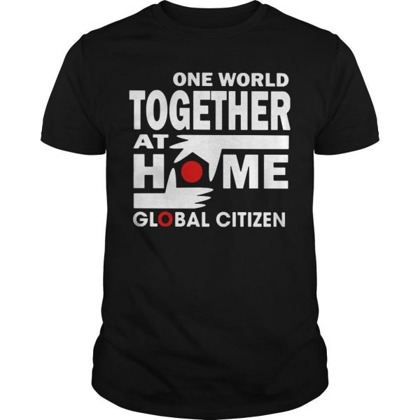 One World Together At Home T Shirt