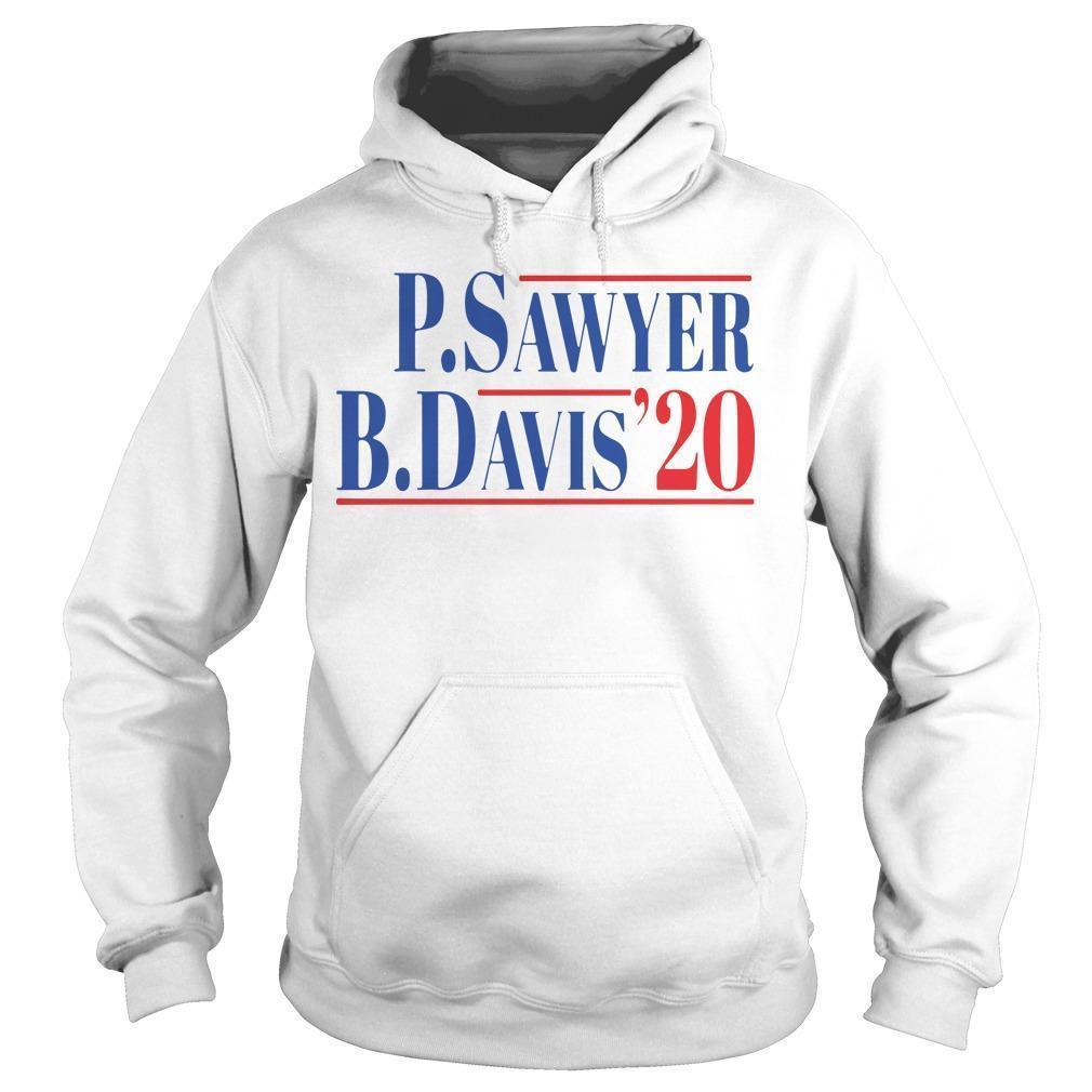 P Sawyer B Davis 20 Hoodie