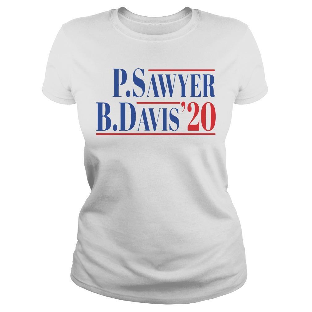 P Sawyer B Davis 20 Longsleeve