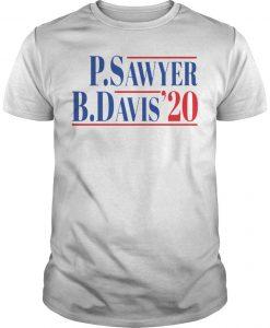 P Sawyer B Davis 20 Shirt