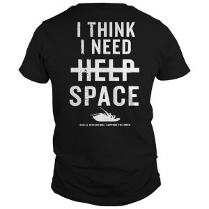 Papa Roach I Think I Need Help Space Shirt
