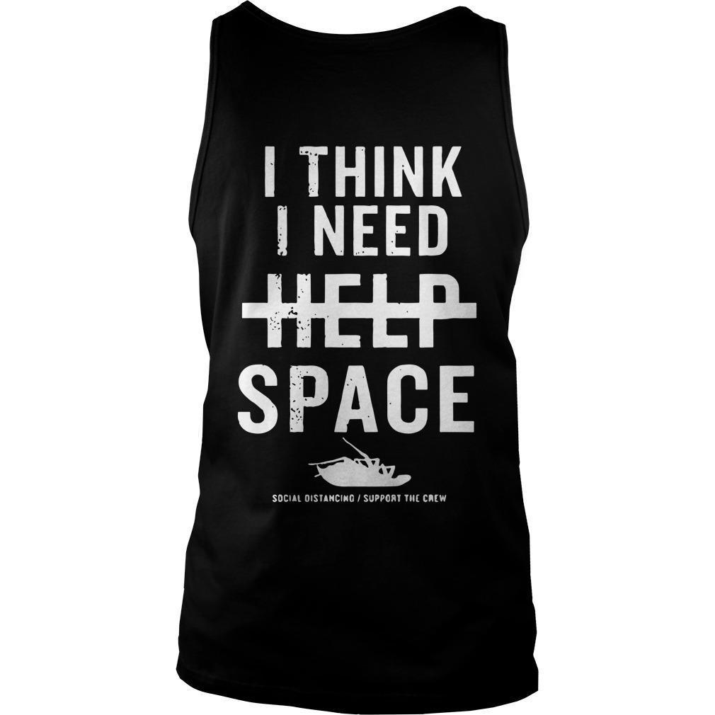 Papa Roach I Think I Need Help Space Tank Top