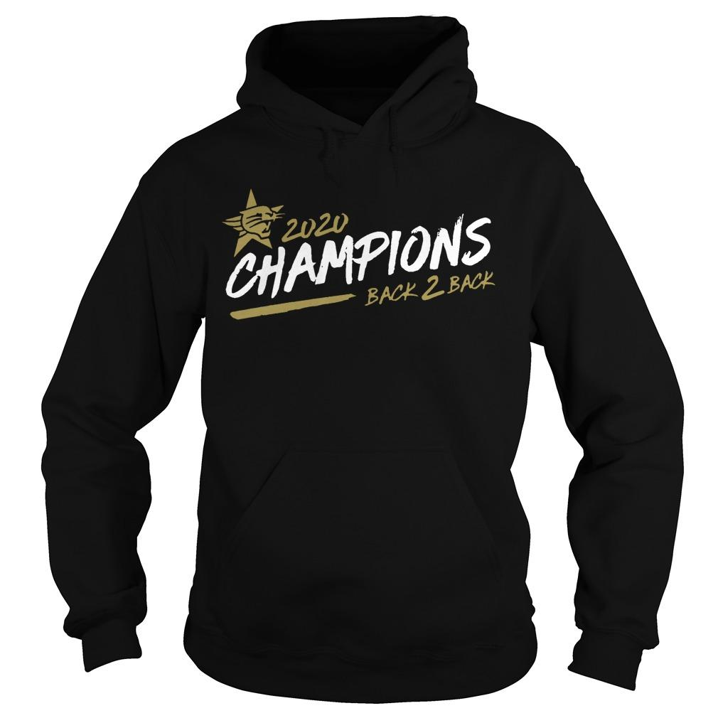 Perth Wildcats 2020 Champions Back 2 Back Hoodie