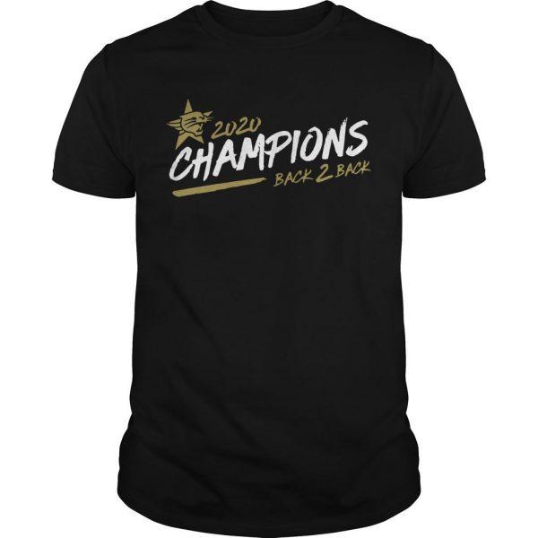 Perth Wildcats 2020 Champions Back 2 Back Shirt
