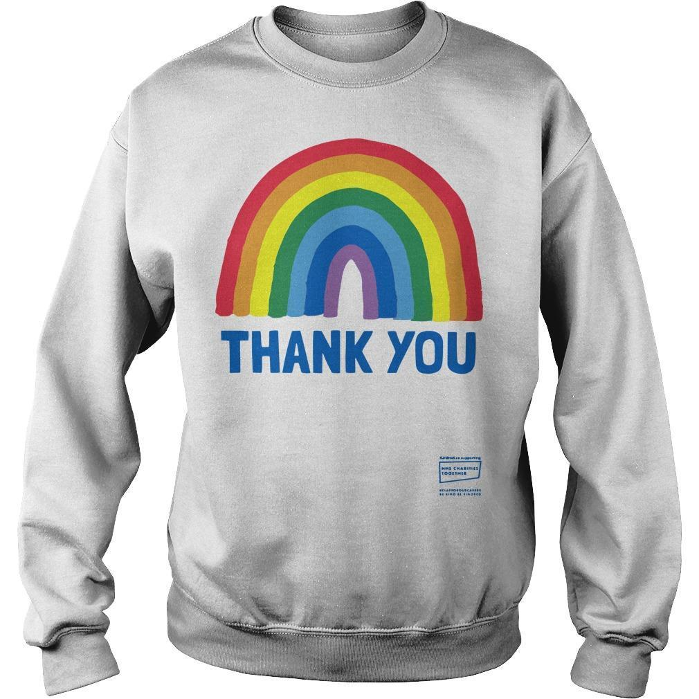 Rainbow Nhs Charity T Sweater