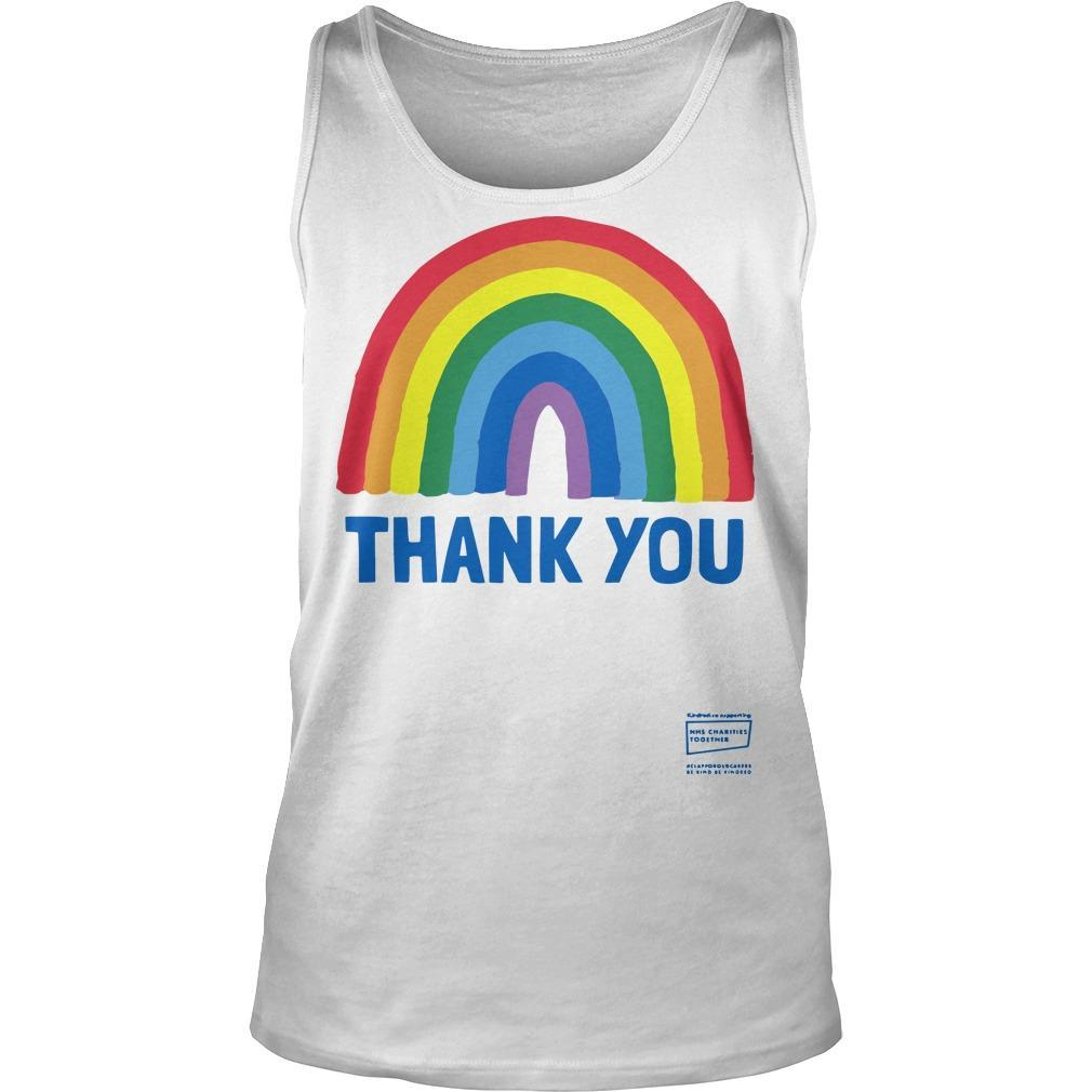 Rainbow Nhs Charity T Tank Top