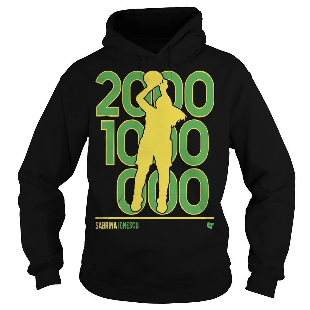 Sabrina Ionescu 2000 1000 1000 Hoodie