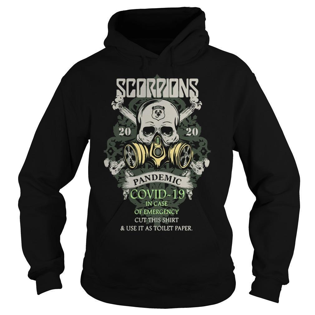 Scorpions 2020 Pandemic Covid 19 Hoodie