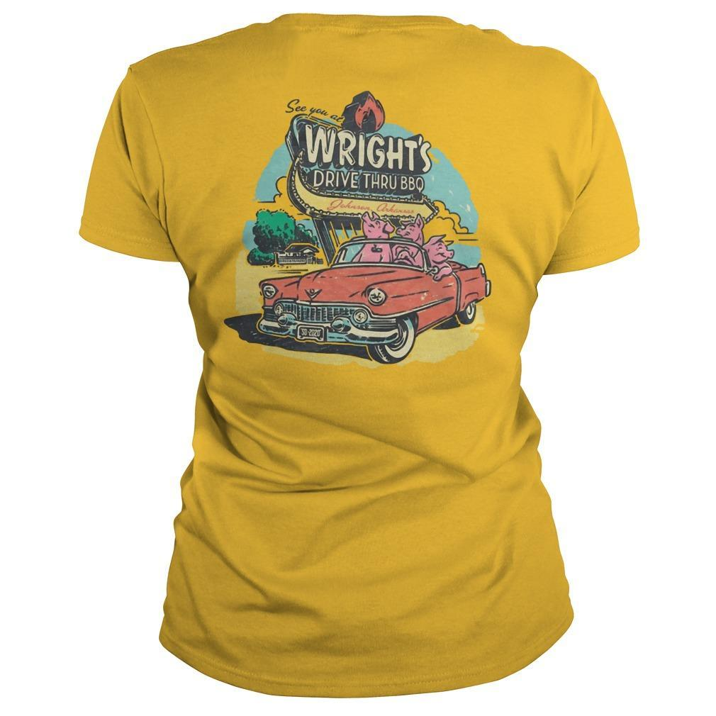 See You At Wright's Drive Thru Bbq Longsleeve