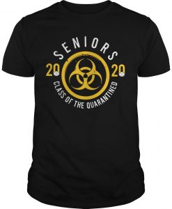 Seniors 2020 Friends Shirt Quarantine