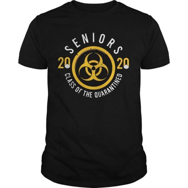 Seniors 2020 Friends Shirt Quarantine