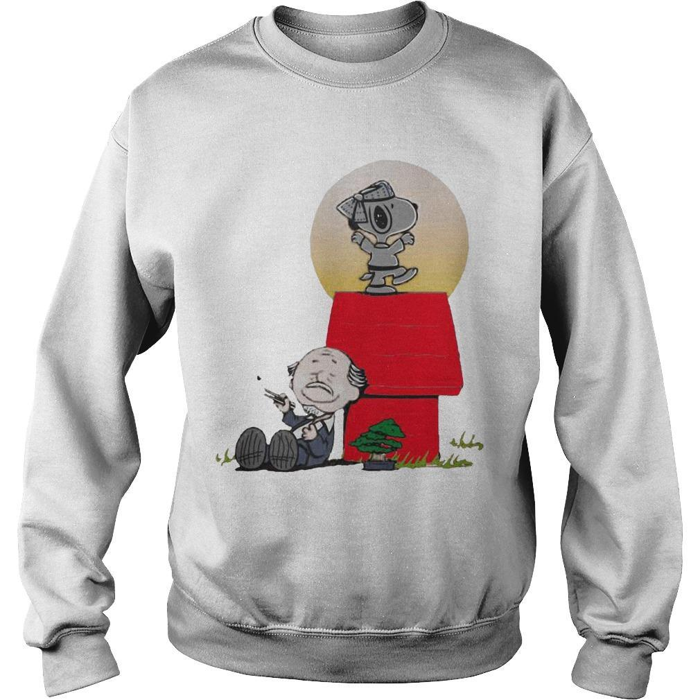 Snoopy Karate Nuts Sweater