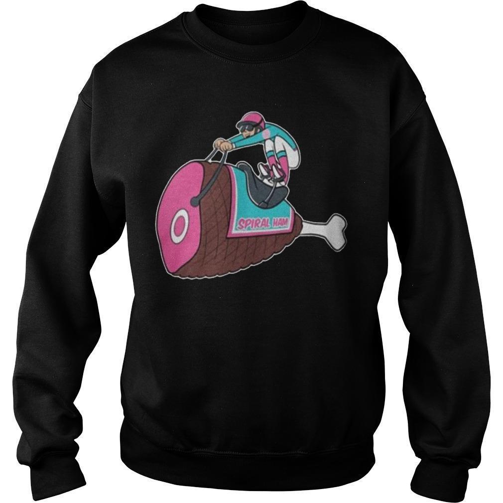 Spiral Ham Pocket Sweater