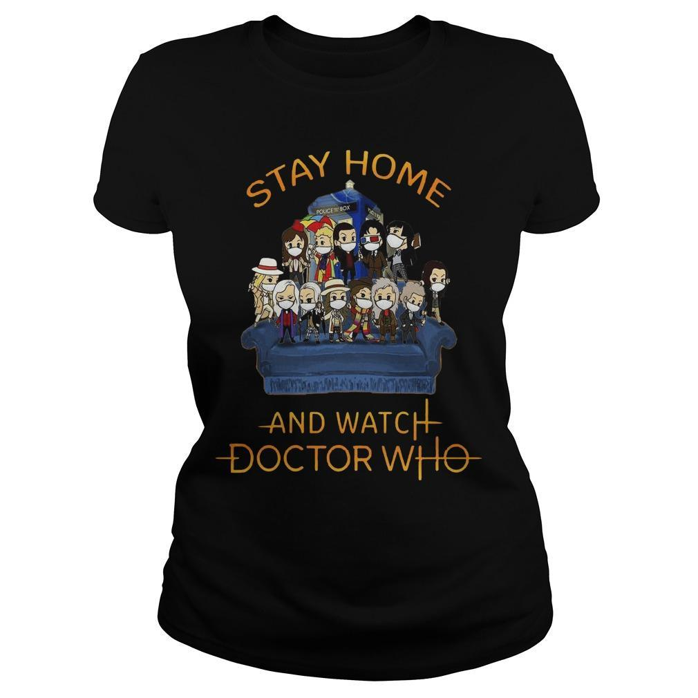 Stay Home And Watch Doctor Who Longsleeve
