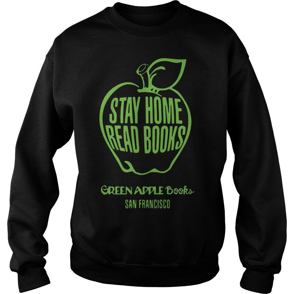 Stay Home Read Books Green Apple Books San Francisco Sweater