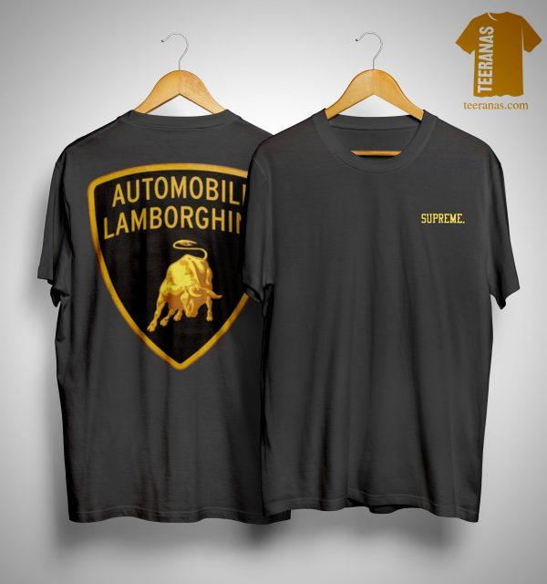 Supreme Lamborghini Shirt