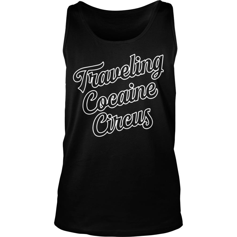 Traveling Cocaine Circus Tank Top