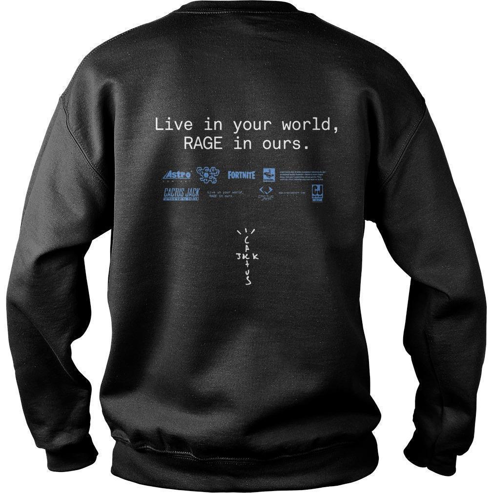 Travis Scott Fortnite Sweater