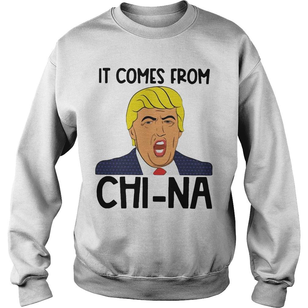 Trump It Comes From China Sweater