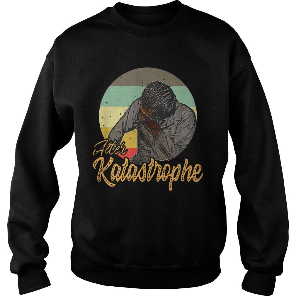 Vintage Alter Katastrophe Sweater