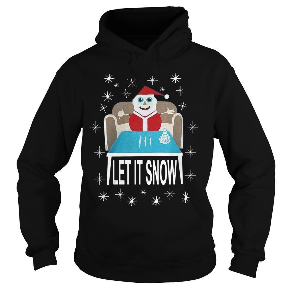 Walmart Let It Snow Hoodie