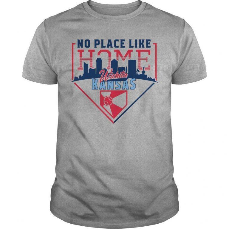 Wind Surge No Place Like Home Wichita Kansas Shirt
