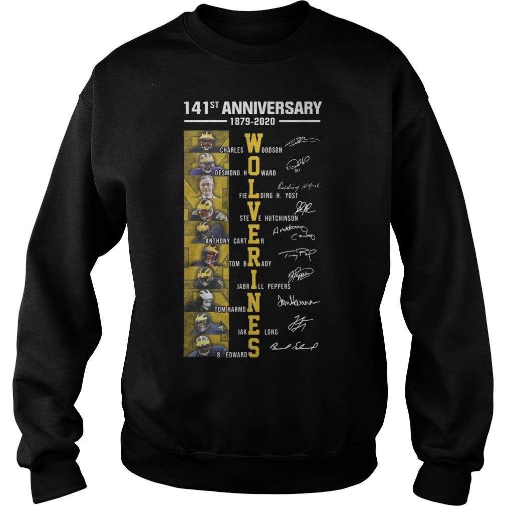 141st Anniversary 1879 2020 Charles Woodson Desmond Howard Sweater