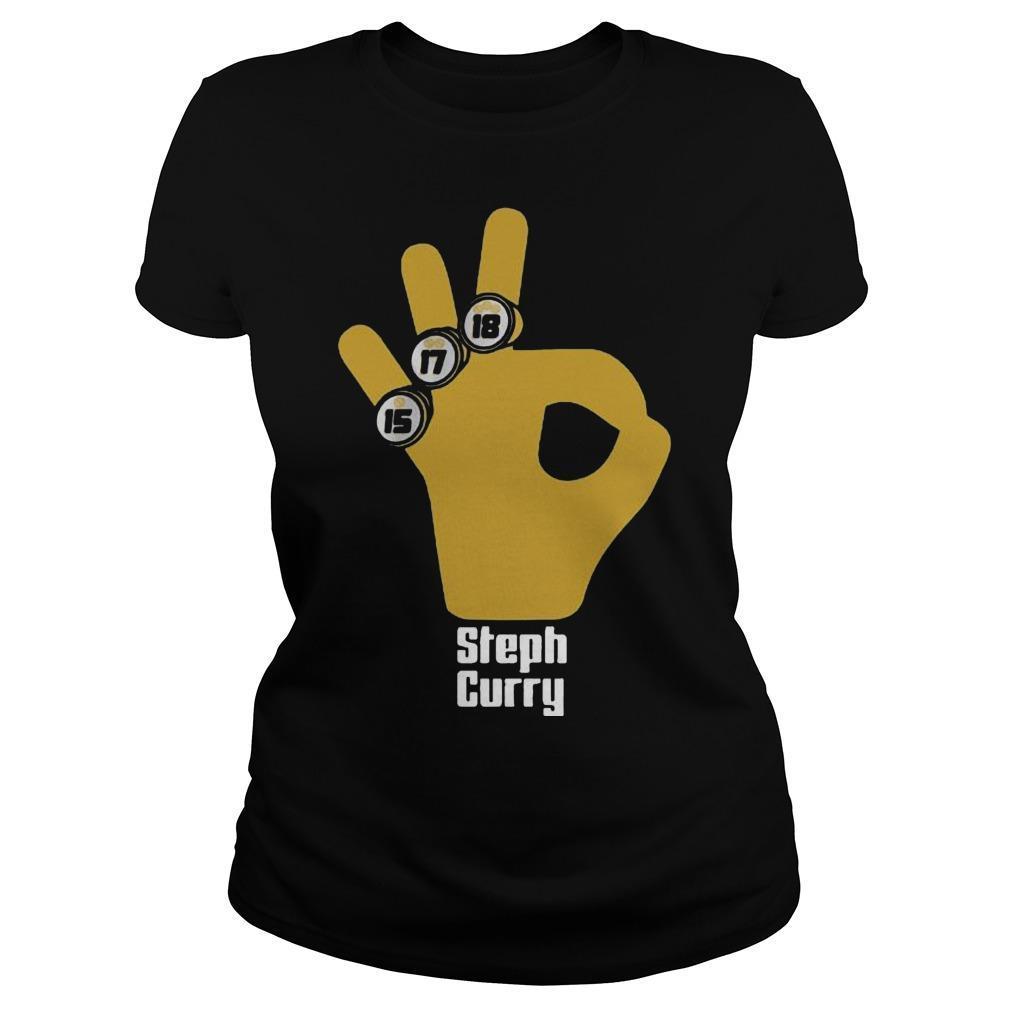 15 17 18 Basketball Stephen Curry T Longsleeve