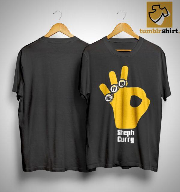 15 17 18 Basketball Stephen Curry T Shirt
