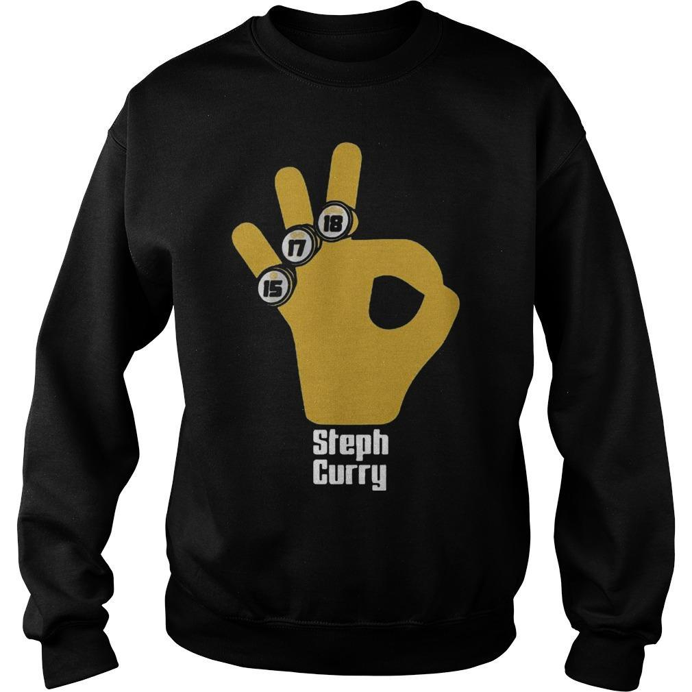 15 17 18 Basketball Stephen Curry T Sweater