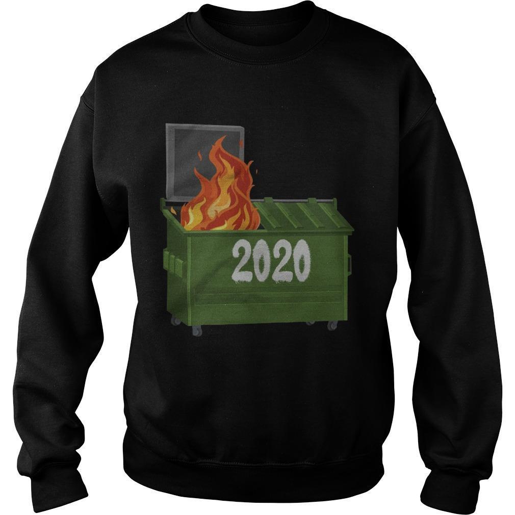 2020 Dumpster Fire Sweater