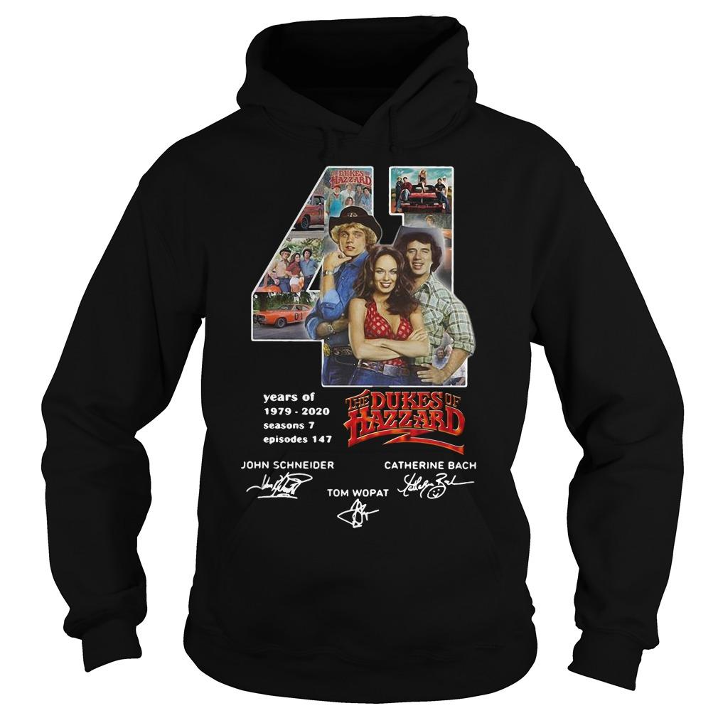 41 Years Of The Dukes Of Hazzard 1979 2020 Hoodie