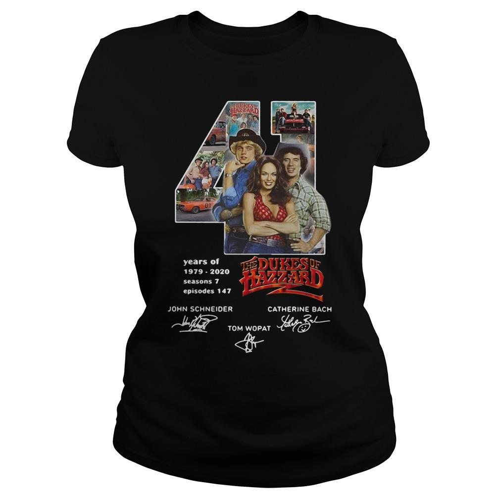 41 Years Of The Dukes Of Hazzard 1979 2020 Longsleeve