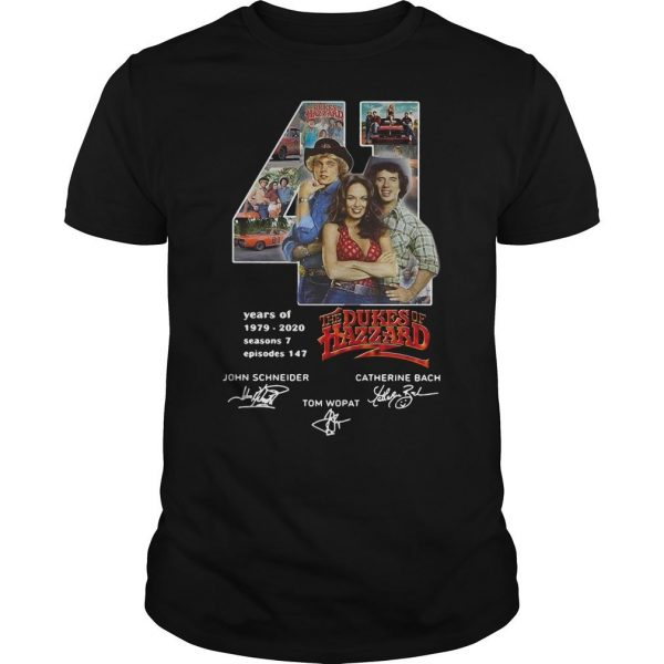 41 Years Of The Dukes Of Hazzard 1979 2020 Shirt