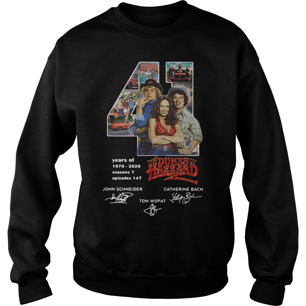 41 Years Of The Dukes Of Hazzard 1979 2020 Sweater