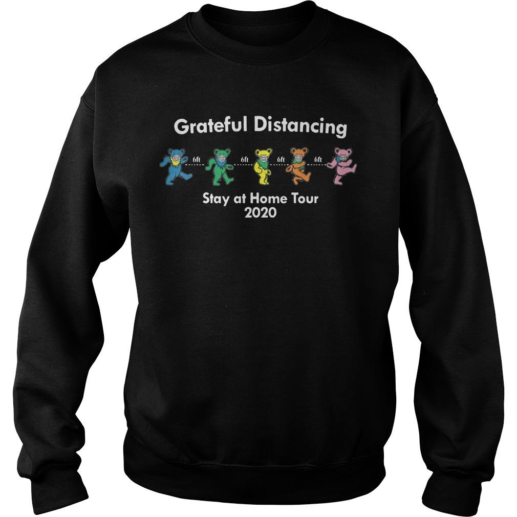 6ft Grateful Distancing Stay At Home Tour 2020 Sweater