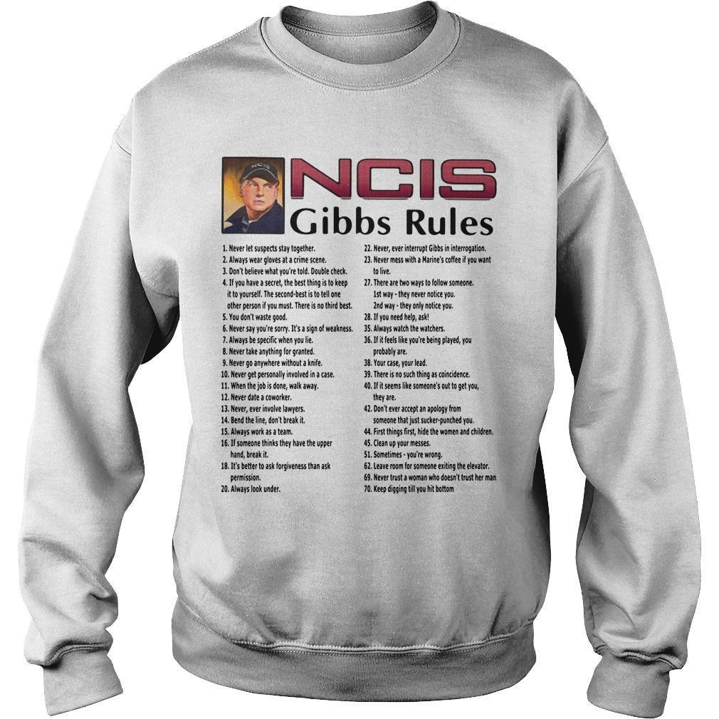 All Song Ncis Gibbs Rules Sweater