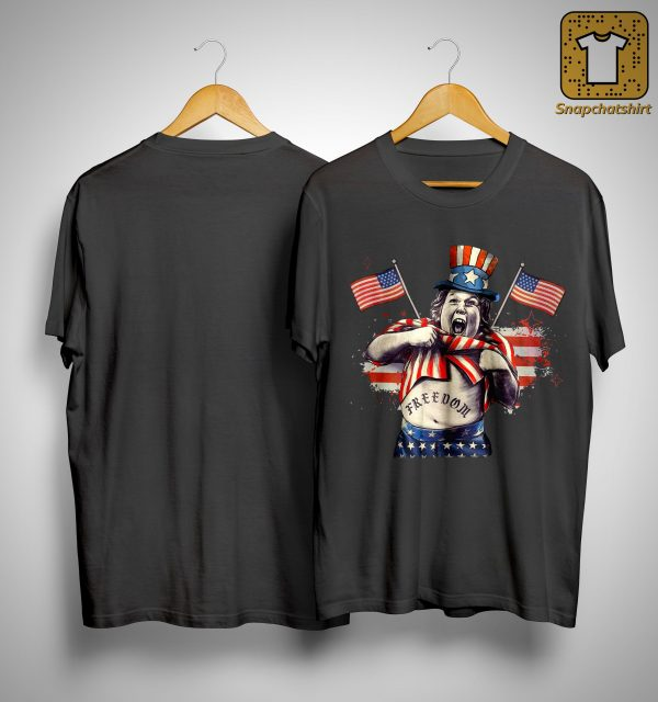 America Independence Day Fat Boy Freedom Shirt