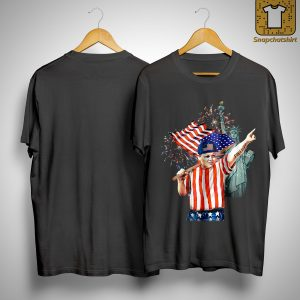 America Independence Day Liberty Statue Fat Boy Shirt