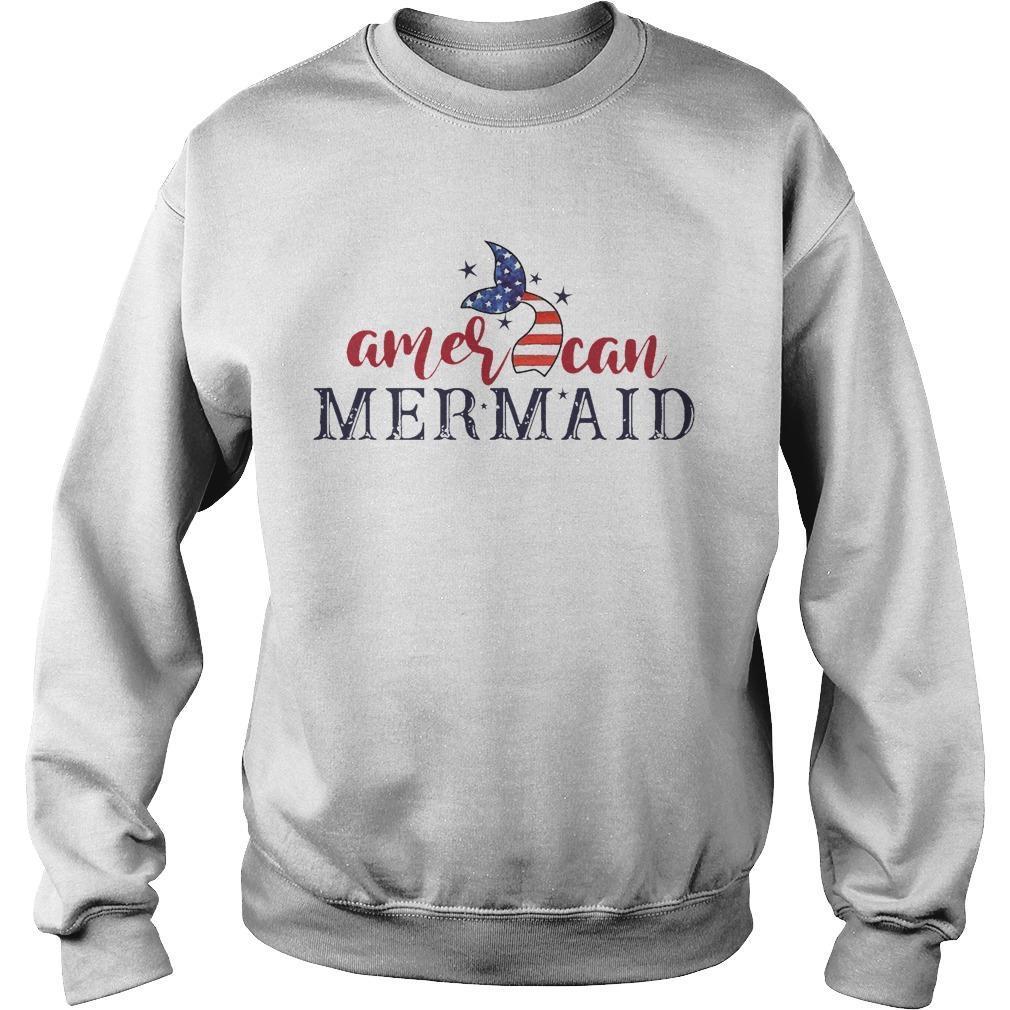 American Mermaid Sweater
