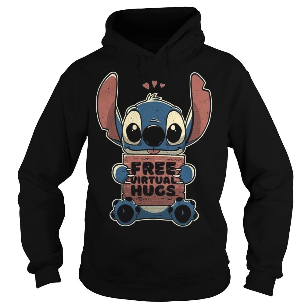 Baby Stitch Free Virtual Hugs Hoodie