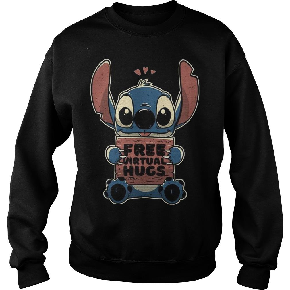 Baby Stitch Free Virtual Hugs Sweater