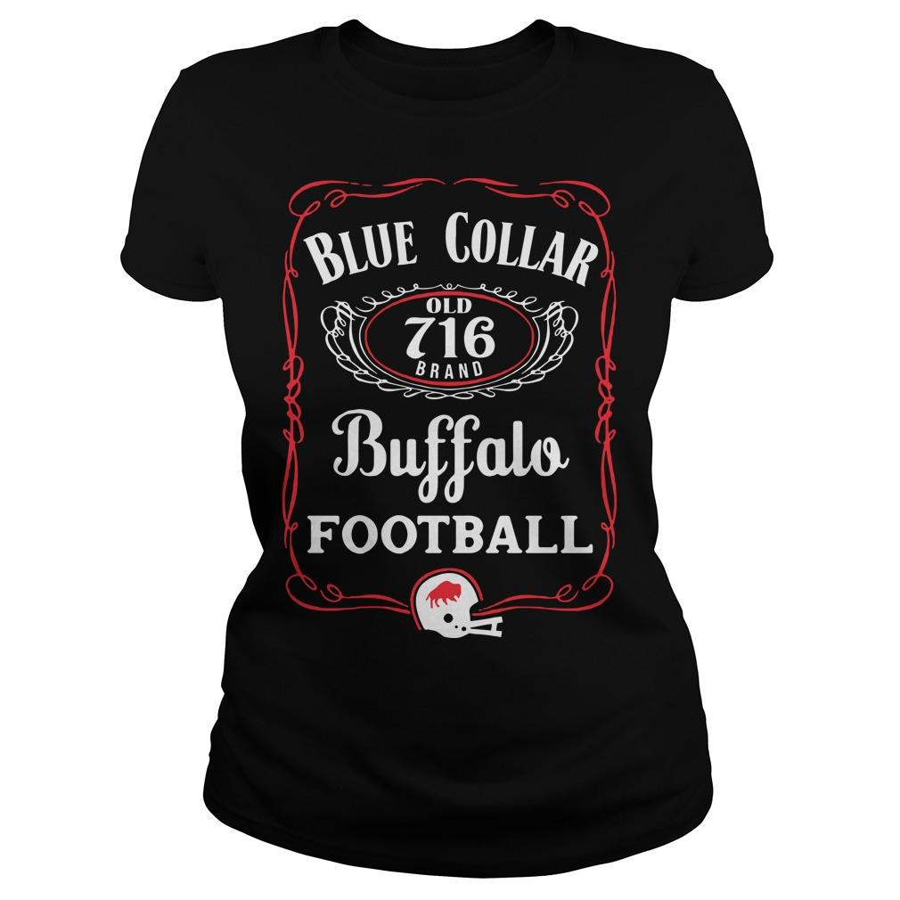 Blue Collar Buffalo Football Longsleeve