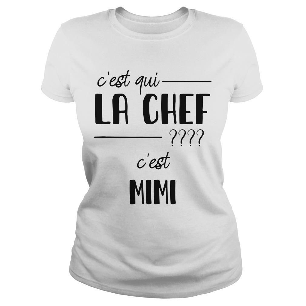 C'est Qui La Chef C'est Mimi Longsleeve